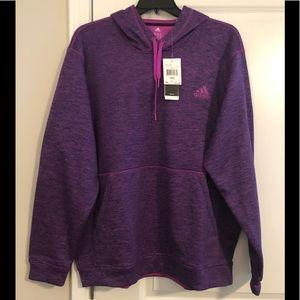 Hoodie By Adidas, Purple, XXL, Brand New!!!